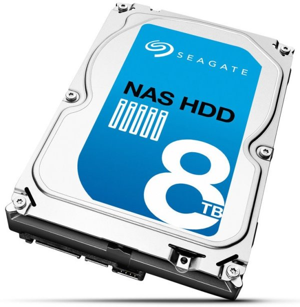 Seagate NAS HDD 8TB Capacity Launched, Currently the Highest Capacity for NAS Applications