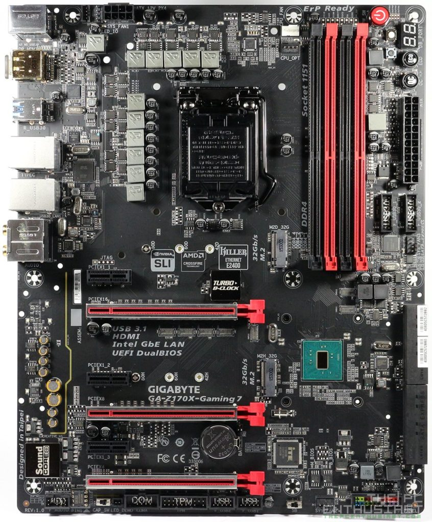 Gigabyte Z170X Gaming 7 Motherboard Review-17