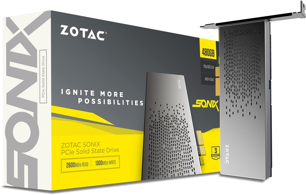 Zotac SONIX PCIe SSD NVMe Unleashed – See Specs, Features and Price