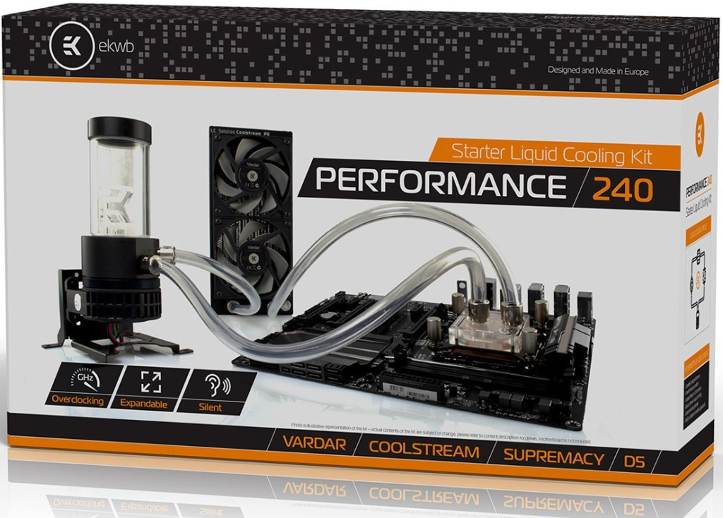 EK Performance Series CPU Water Cooling Kit Released – See Specs, Features and Price