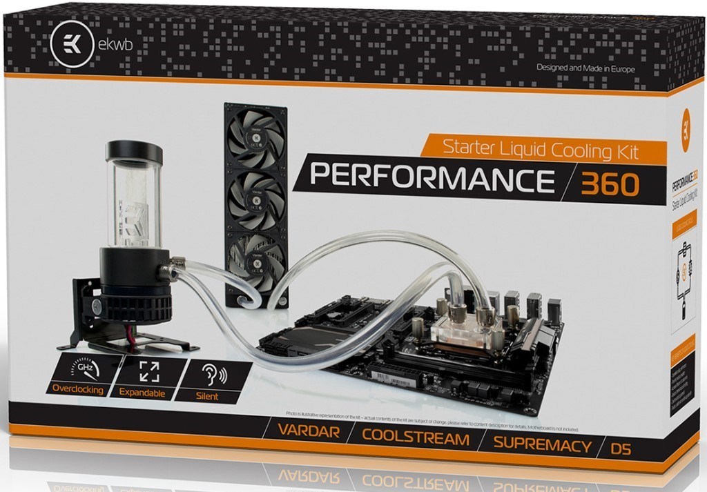 EK Kit Performance 360 Water Cooling