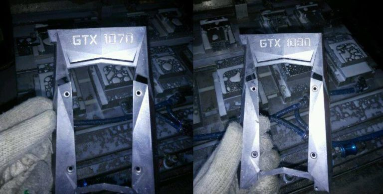 NVIDIA GeForce GTX 1080 and GTX 1070 Cooler Shrouds Leaked