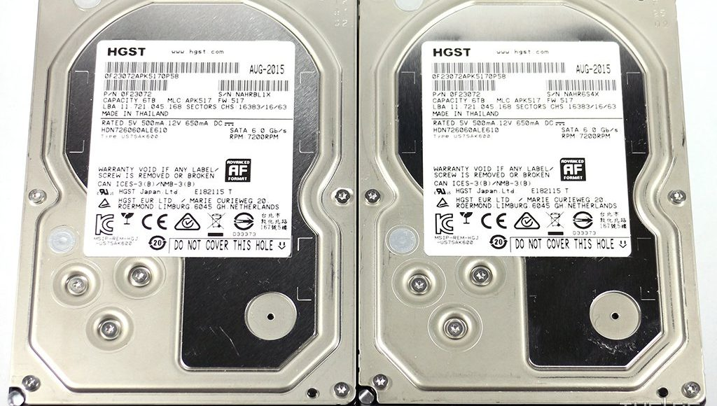 HGST Deskstar NAS 6TB HDD Review