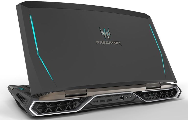 Acer Predator 21 X Unleashed – The Gaming Laptop with 7th Gen Kaby Lake CPU, GTX 1080 SLI and a 21″ Curve Display