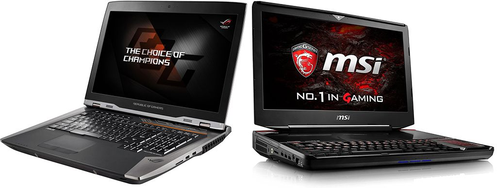 Latest Gaming Laptops with GeForce GTX 1080, 1070 and 1060 Discrete Graphics Processor