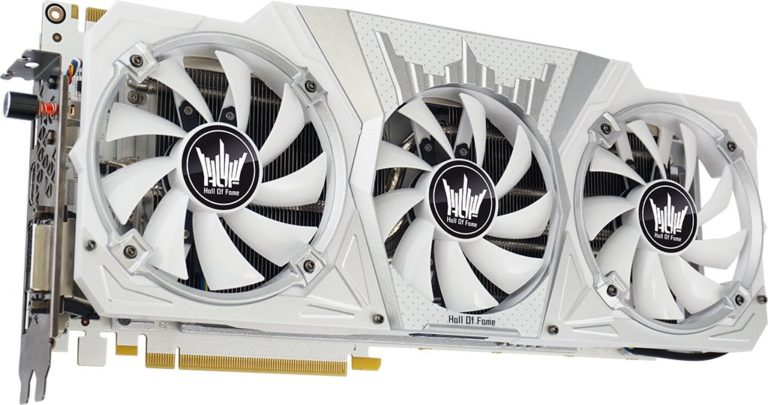 Galax GeForce GTX 1080 HOF 8GB (Hall of Fame) Review – The White Beast!