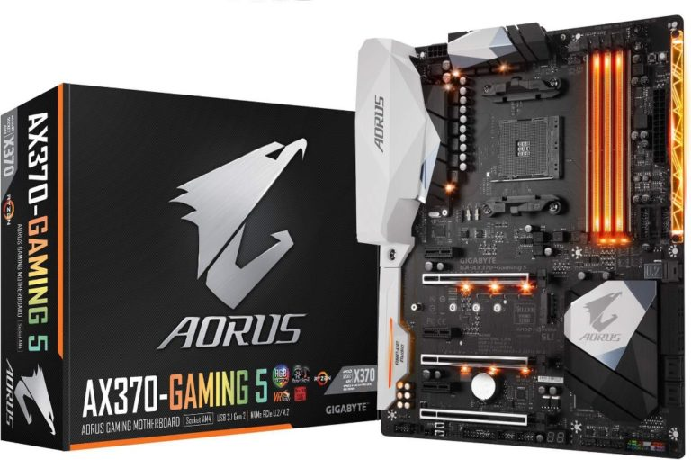 Gigabyte Aorus X370 Gaming 5 Socket AM4 Motherboard – First Look