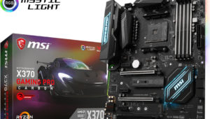 MSI X370 Gaming Pro Carbon AM4 Motherboard Review