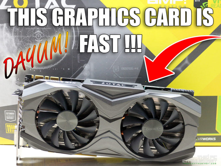 ZOTAC GeForce GTX 1080 Ti AMP Edition Review – Fast and Cool!