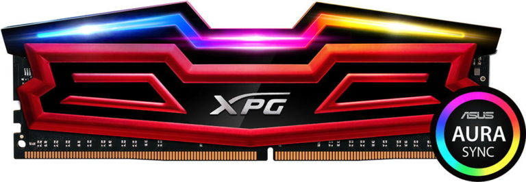 ADATA XPG SPECTRIX D40 RGB DDR4 Memory Released – With Asus AURA Sync Support
