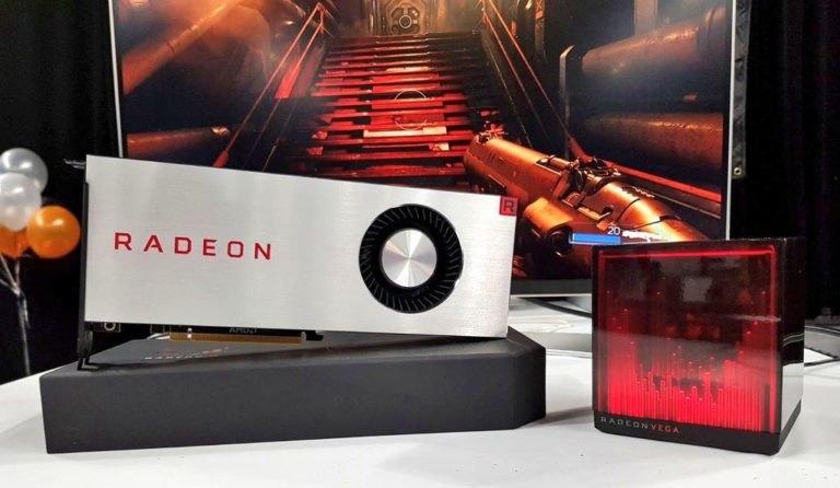 AMD Radeon RX Vega 64 Limited Edition Graphics Card Unboxed – Together with Radeon Holocube