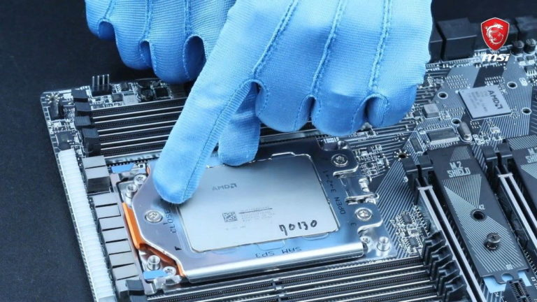 How To Install An AMD Threadripper CPU On An X399 Motherboard By MSI