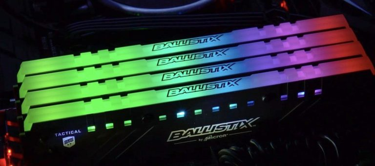 Ballistix Tactical Tracer RGB DDR4 Gaming Memory Released – See Features and Specs