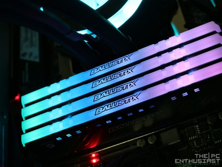 Ballistix Tactical Tracer RGB DDR4-2666 Review – Finally An RGB Gaming Memory From Ballistix