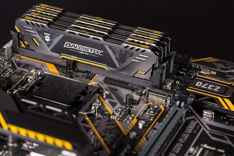 Ballistix Sport AT DDR4 Gaming Memory Now Available – Designed for TUF Gaming Alliance PC