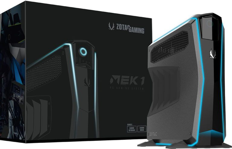 Zotac MEK1 Gaming PC Review – Powered with GeForce GTX 1070 Ti and Intel Core i7 CPU