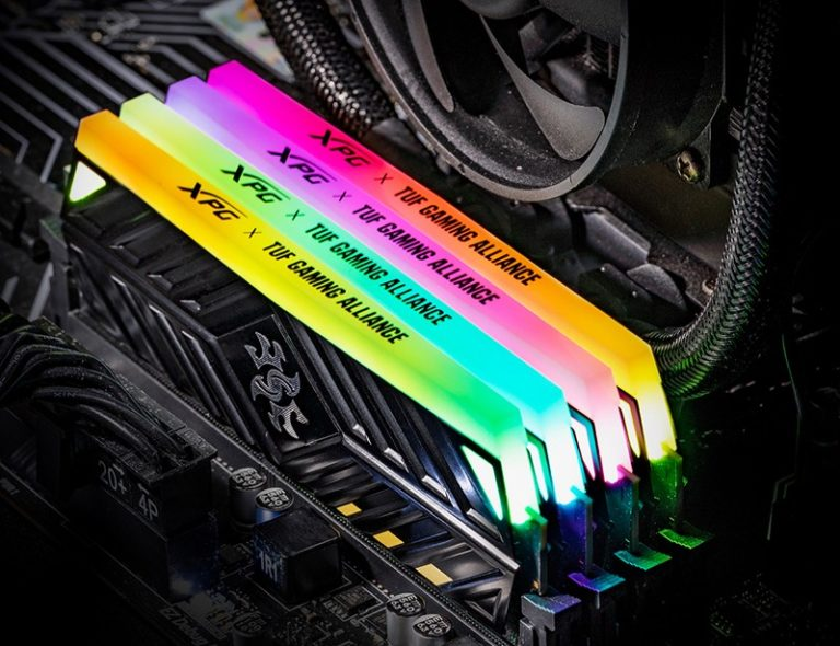 ADATA XPG SPECTRIX D41 TUF Gaming Edition DDR4 RGB Memory Unleashed