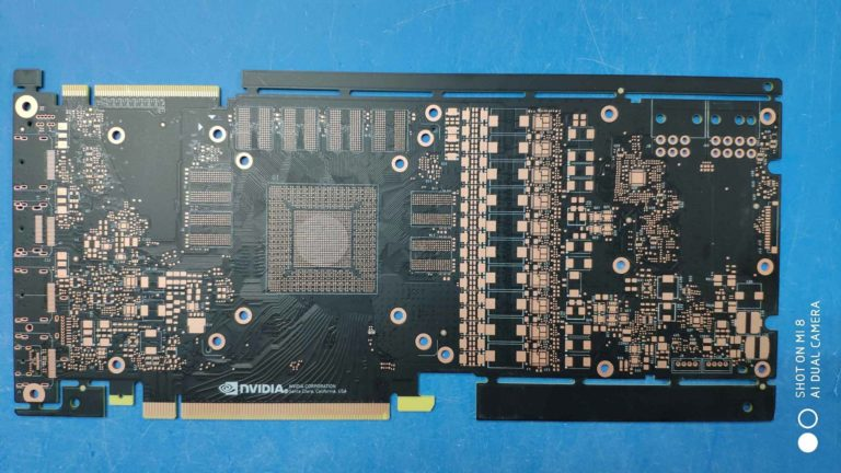 NVIDIA GeForce GTX 1180 (2080) PCB Surfaced – Features 6+8pin and New SLI Finger
