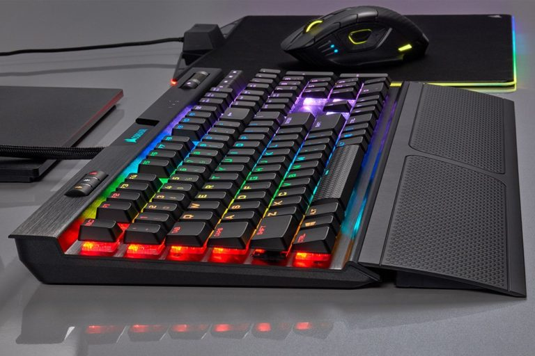 Corsair K70 RGB MK.2 Low Profile Mechanical Gaming Keyboards Now Available – Features Cherry MX Low Profile Switches