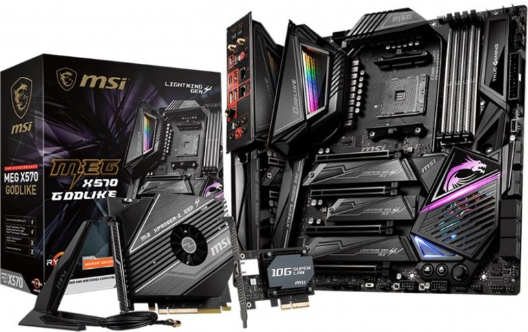 MSI X570 Motherboards Unleashed – MEG X570 GODLIKE Leads the Pack