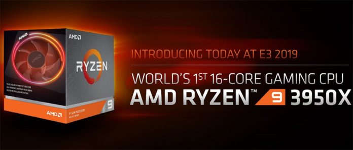 AMD Ryzen 9 3950X Announced