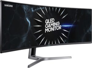 Samsung Double QHD CRG9 ultrawide curved gaming monitor