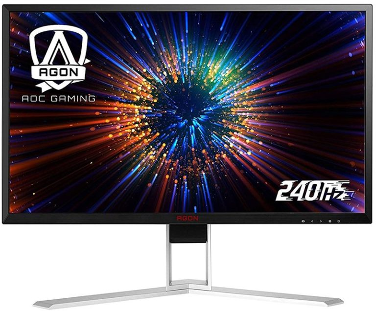 AOC Agon AG271FZ2 and AG251FZ2 Gaming Monitors Released – 240Hz Refresh Rate and 0.5ms Response Time