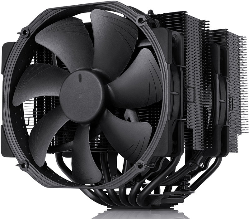 all-black Noctua NH-D15 chromax.black cpu cooler