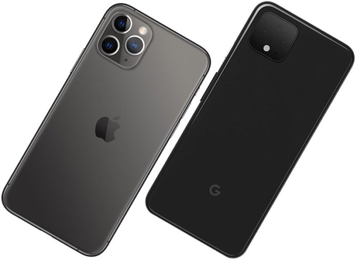 google pixel 4 vs iphone 11 pro