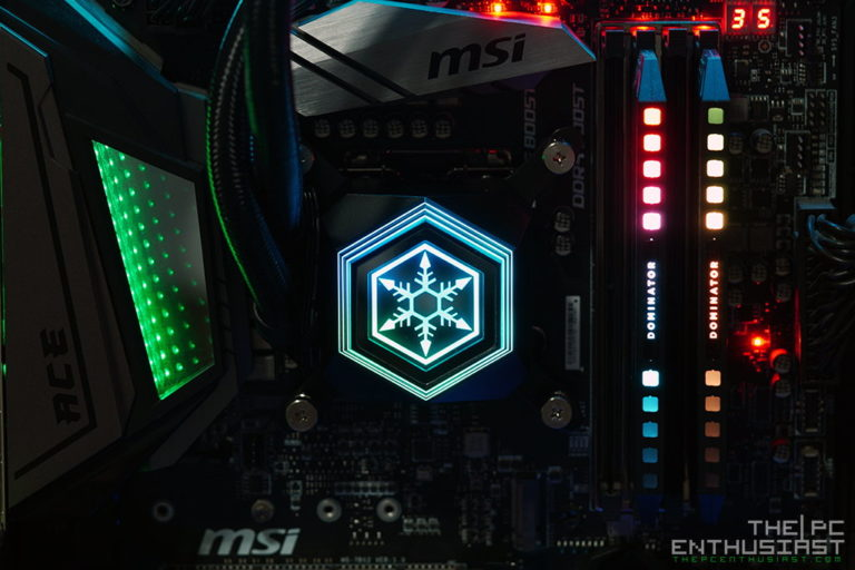 SilverStone PF240 CPU Cooler Review – SilverStone's Permafrost AIO Liquid CPU Cooler with ARGB Lighting
