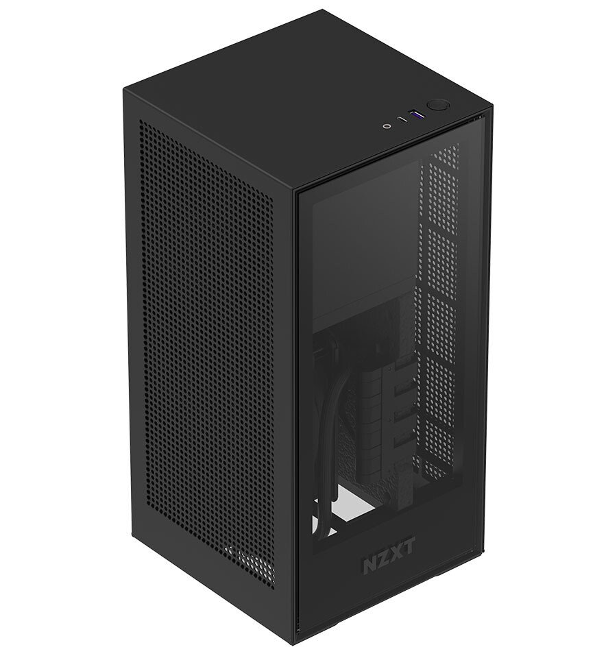 NZXT H1 Mini-ITX Case Top-Front View