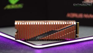 Aorus NVME Gen4 SSD 1TB Review – Best Looking NVMe SSD?
