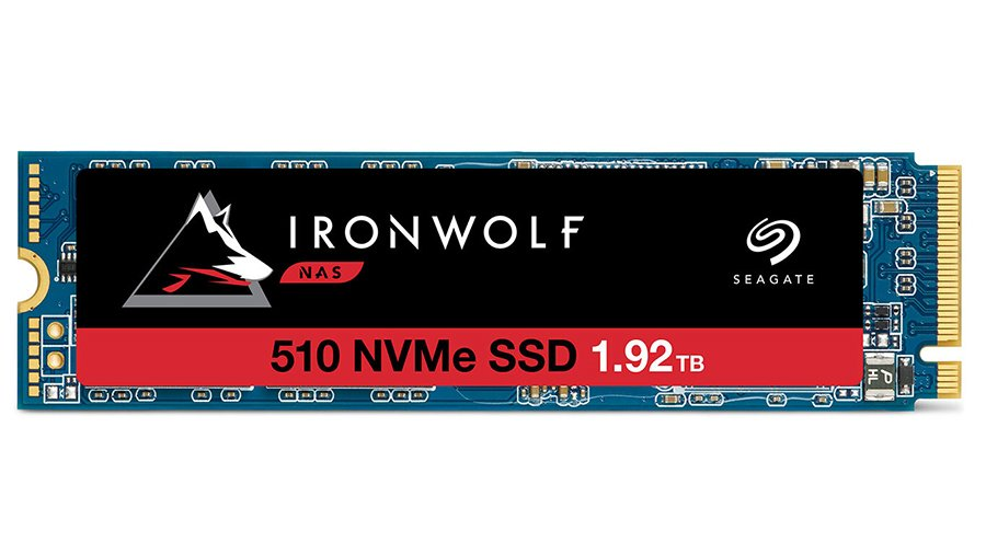 Seagate IronWolf 510 M.2 NVMe SSD for NAS