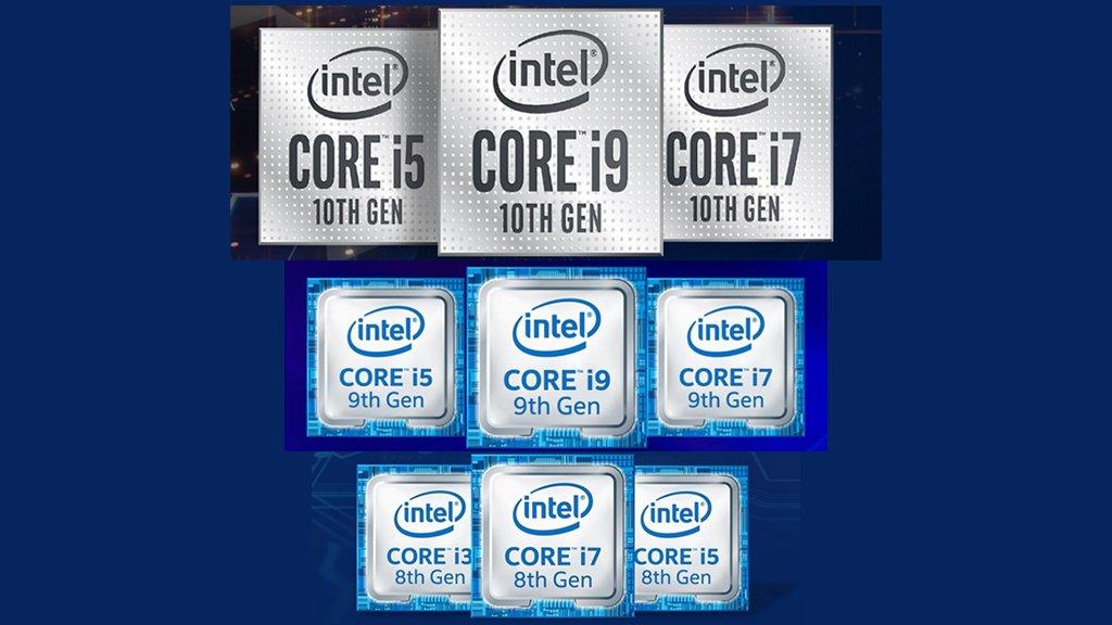 Intel 10th Gen vs 9th Gen vs 8th Gen CPUs
