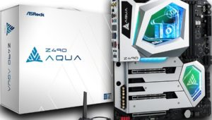 The ASRock Z490 AQUA Is One of The Most Expensive Z490 Motherboards Available!