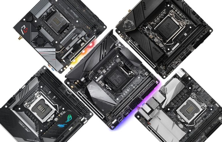 Five Z490 Mini-ITX Motherboards Available Now
