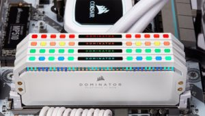 Corsair Dominator Platinum RGB DDR4 White Memory Kits Now Available
