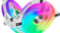 Corsair iCUE QL120 RGB PWM White Fan Review – Best For White-Themed Builds