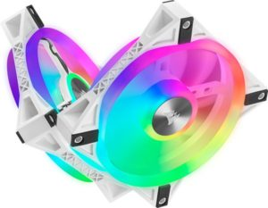 Corsair iCUE QL120 RGB PWM White Fan Review