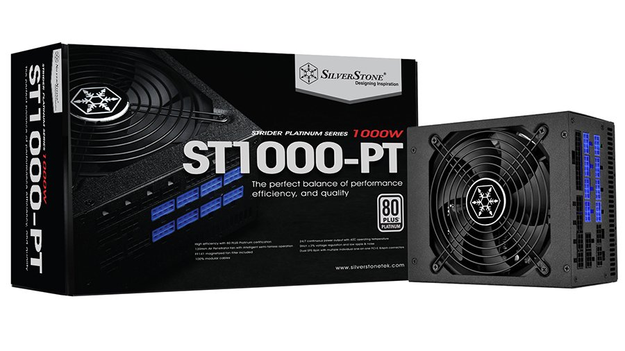 SilverStone ST1000-PT PSU Review