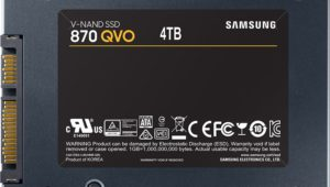 Samsung 870 QVO SATA SSD Now Available – 1TB, 2TB and 4TB SSD Capacities Listed