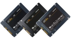 samsung 870 qvo vs 860 qvo and evo sata ssd