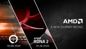 AMD Ryzen Zen 3 CPU and Radeon RDNA 2 GPU Launching on October