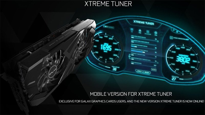 galax rtx 30 series xtreme tuner utility