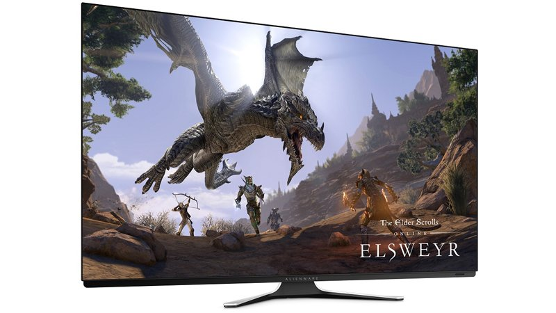 Alienware AW5520QF 4K OLED gaming monitor