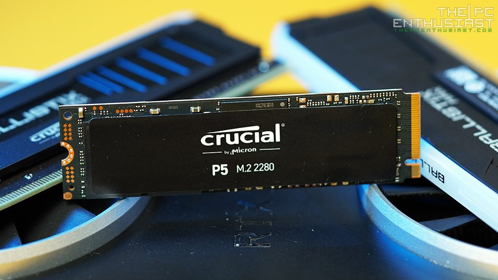 crucial p5 nvme ssd review