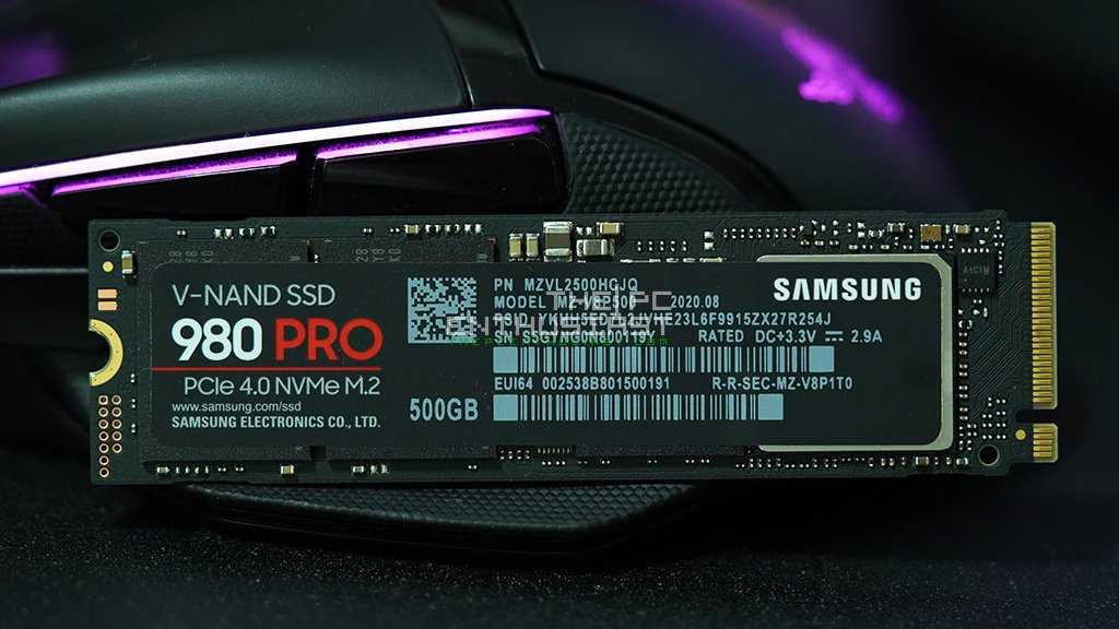 samsung 980 pro nvme gen4 ssd review