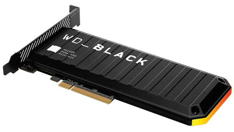 wd black an1500 nvme ssd specifications
