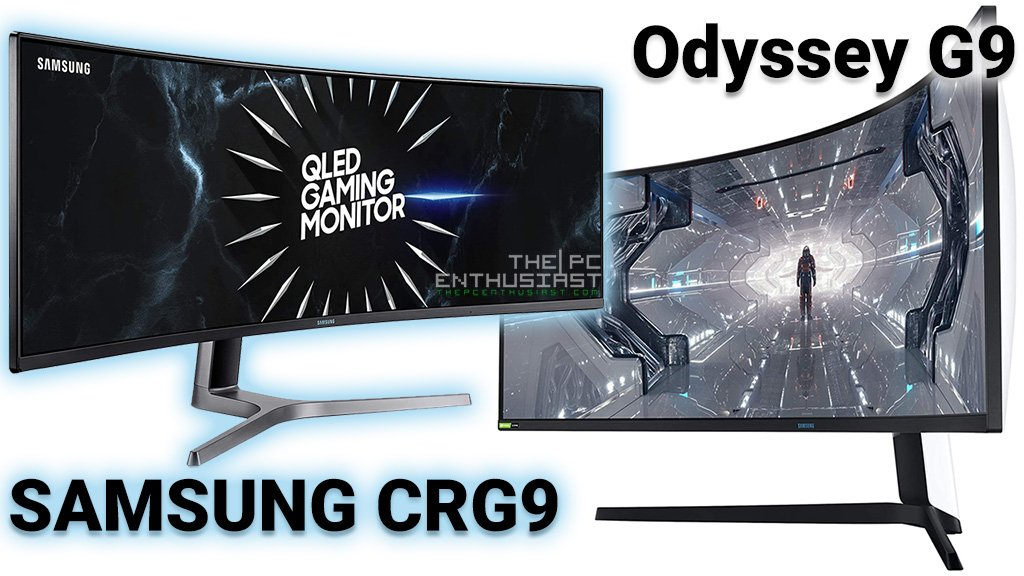 Samsung Odyssey G9 and CRG9 Gaming Monitor Deals