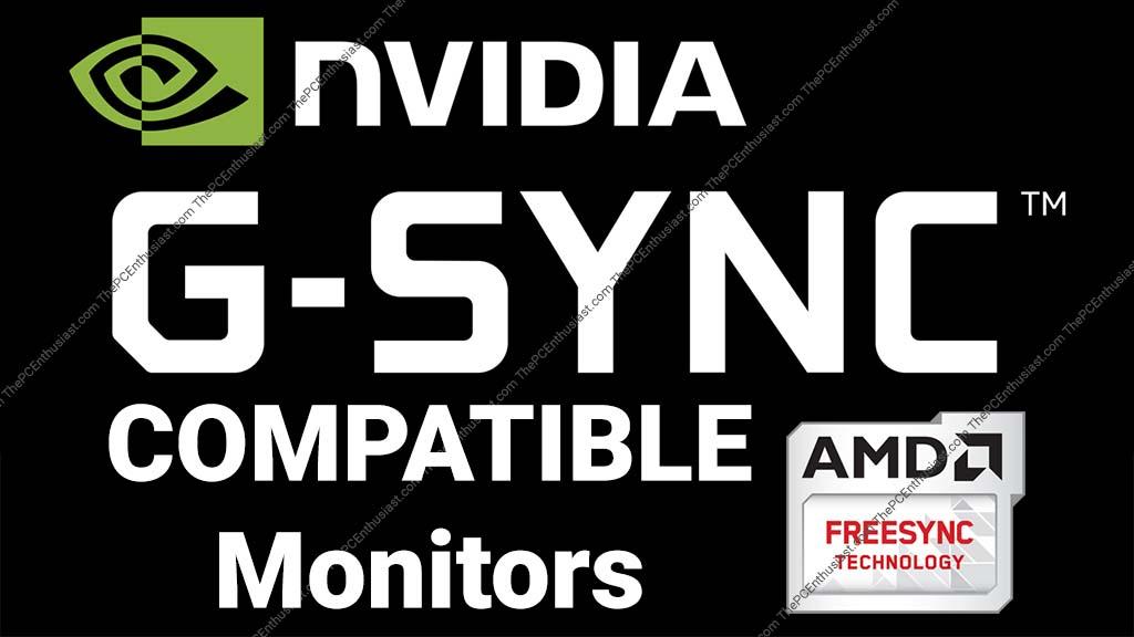 list of nvidia g-sync compatible monitors